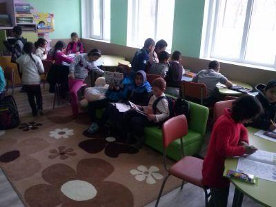 Училището - територия на учениците - ОУ Христо Ботев - Александрово